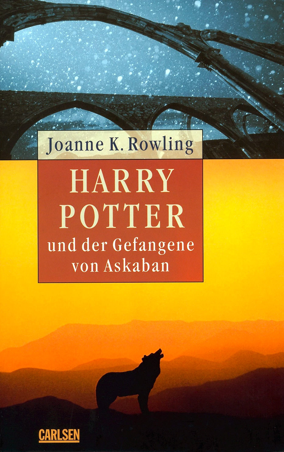 'Prisoner of Azkaban' German adult edition