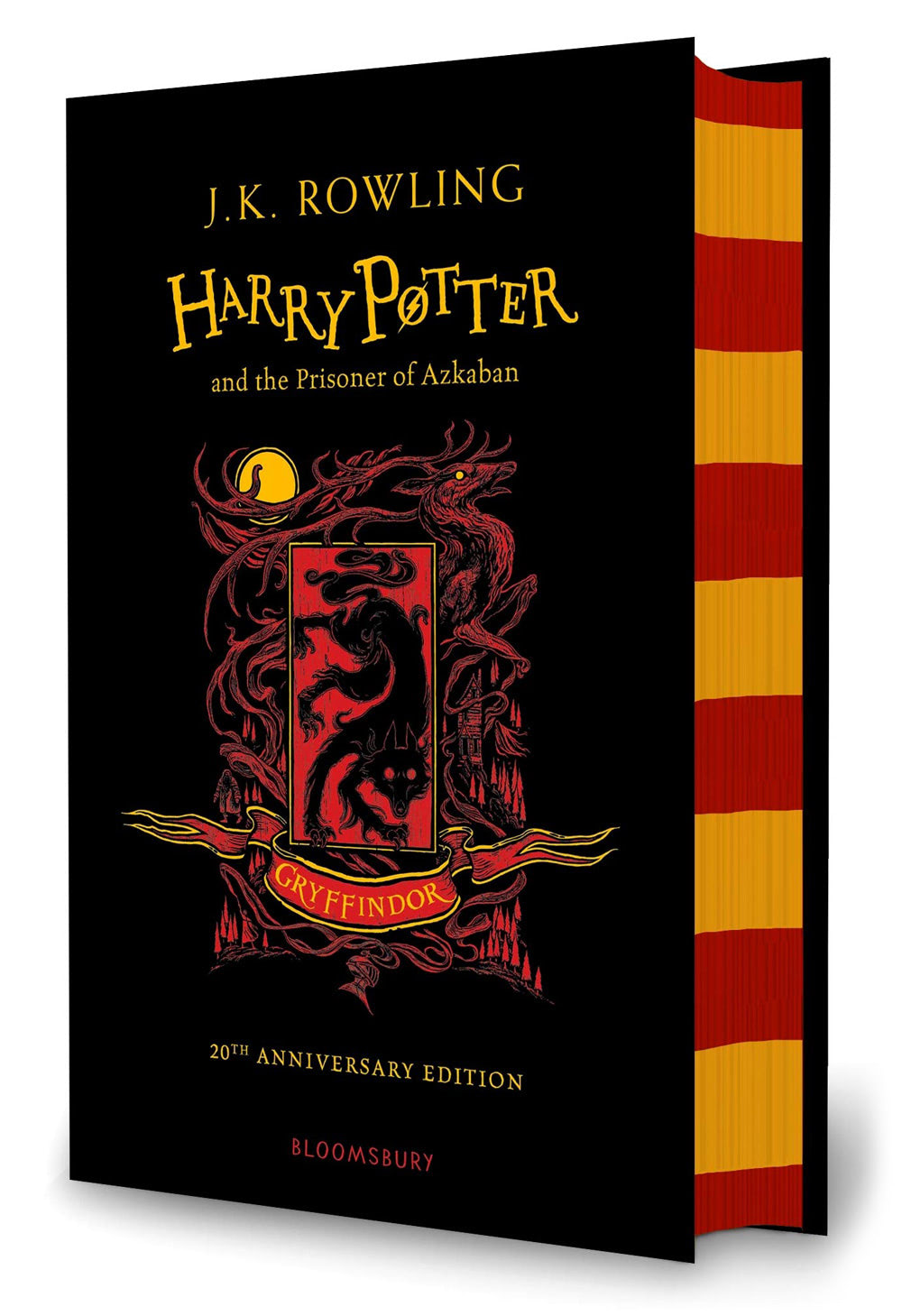 'Prisoner of Azkaban' house edition (Gryffindor) (hardback)
