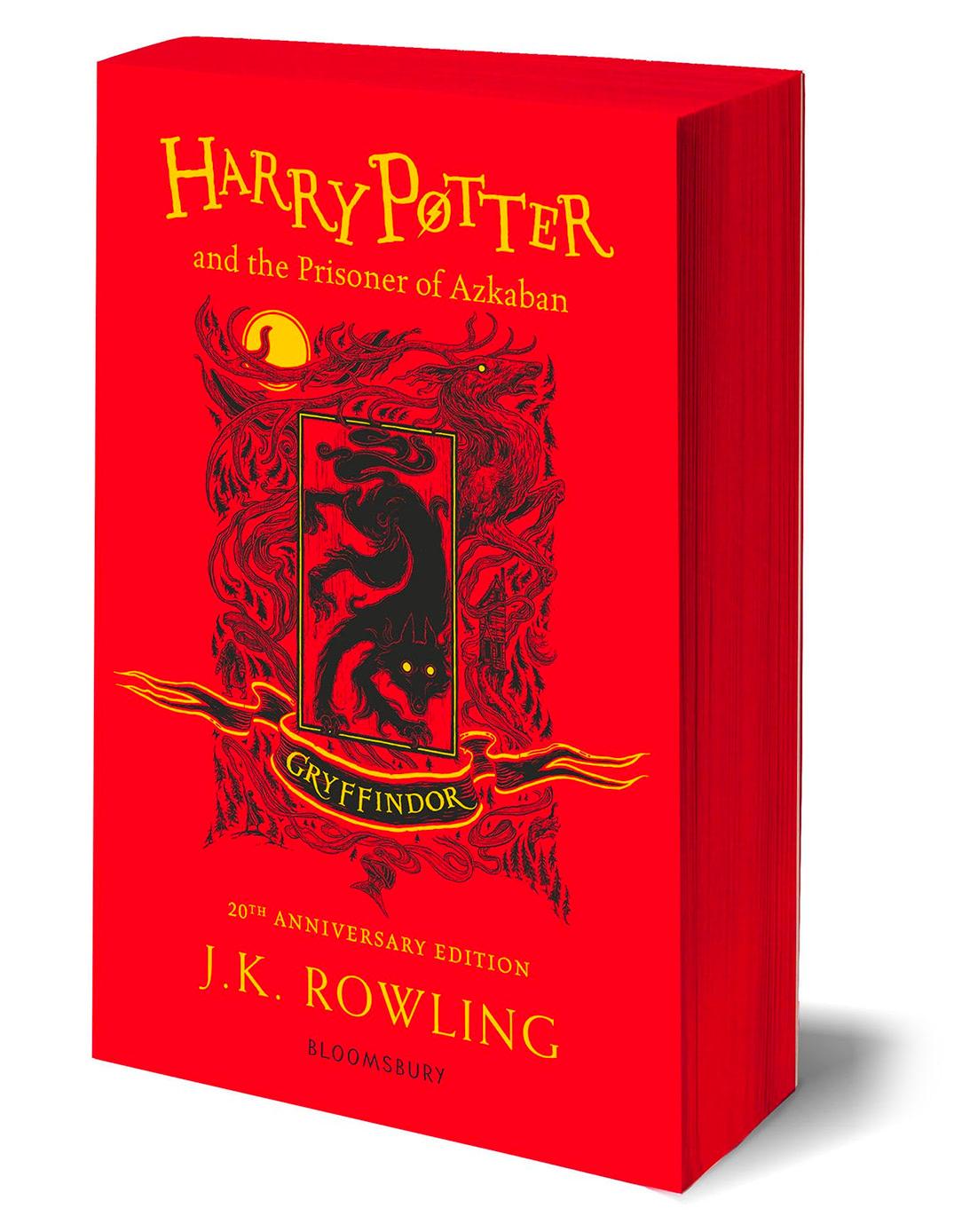 'Prisoner of Azkaban' house edition (Gryffindor) (paperback)