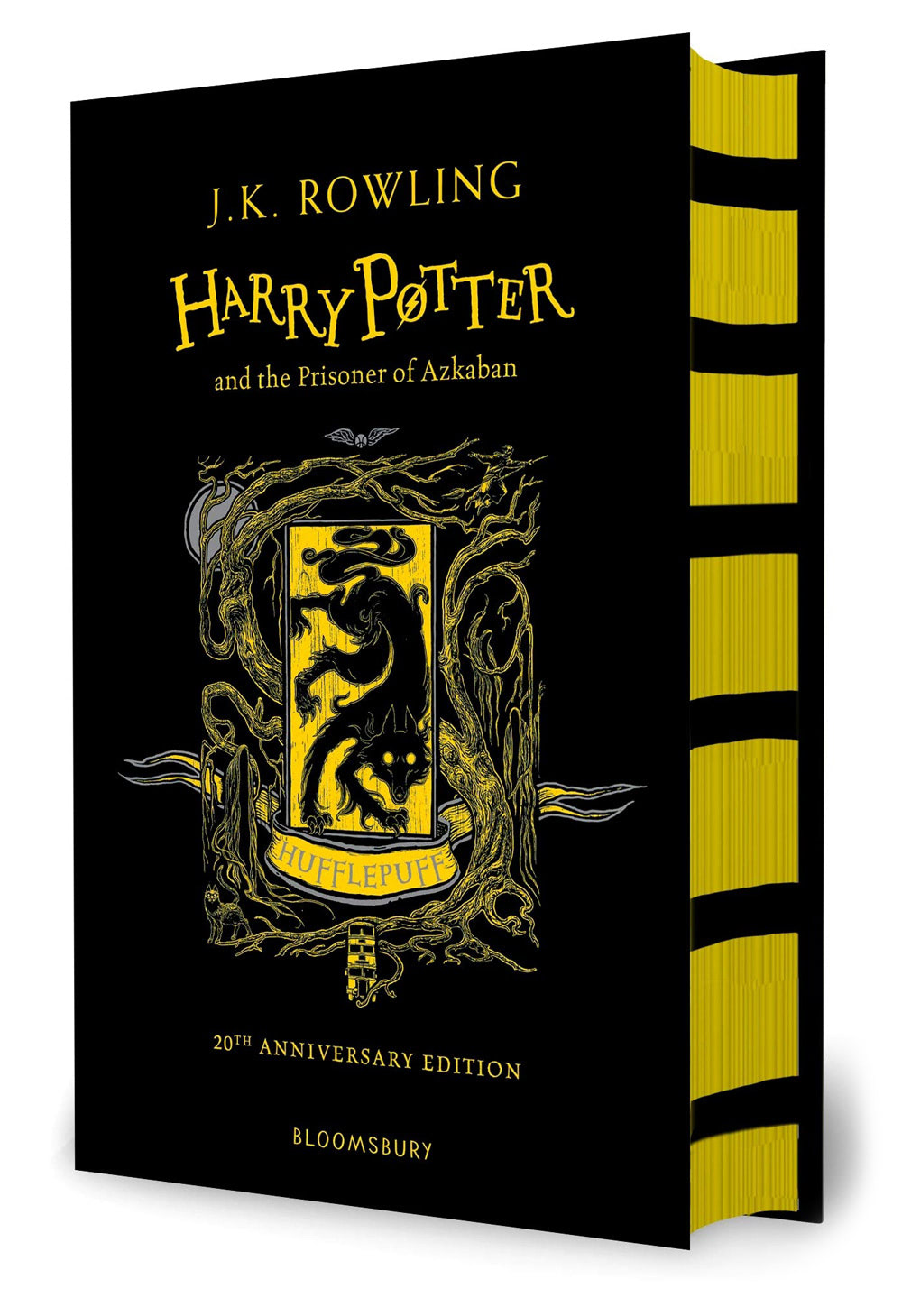'Prisoner of Azkaban' house edition (Hufflepuff) (hardback)