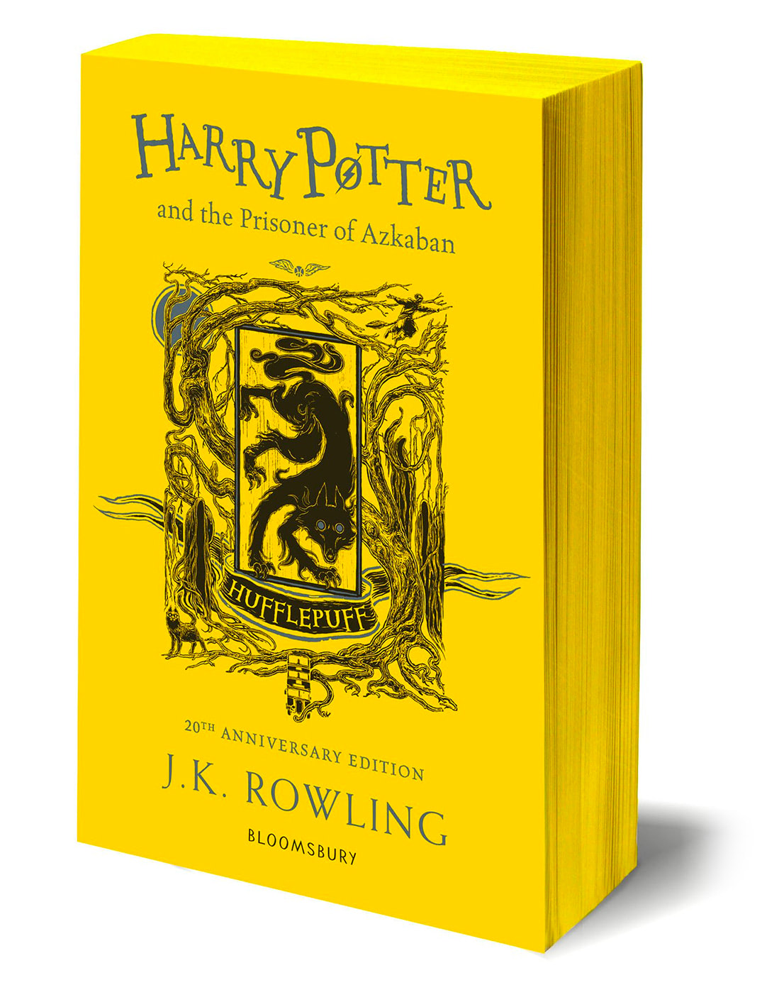 'Prisoner of Azkaban' house edition (Hufflepuff) (paperback)