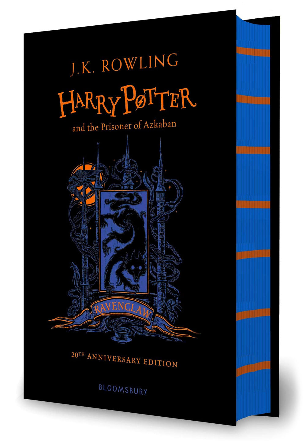 'Prisoner of Azkaban' house edition (Ravenclaw) (hardback)