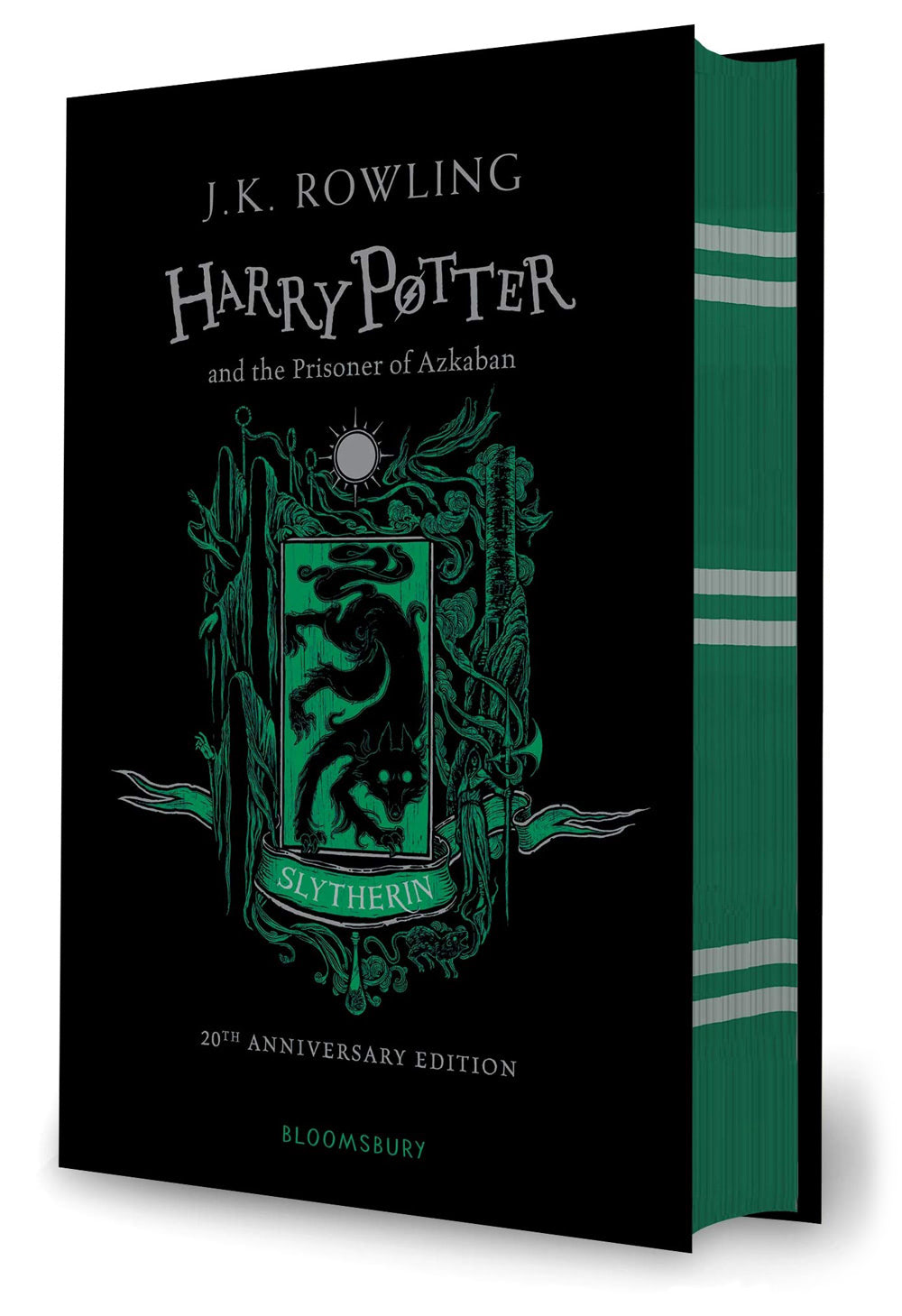 'Prisoner of Azkaban' house edition (Slytherin) (hardback)