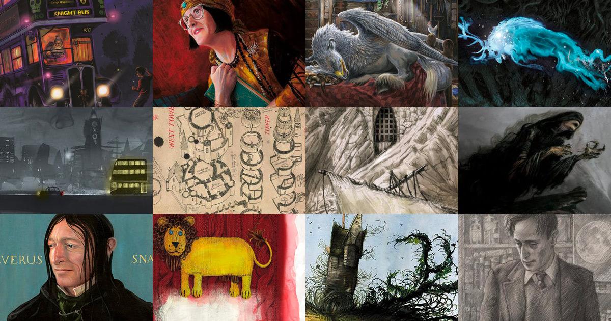 'Prisoner of Azkaban' illustrated edition