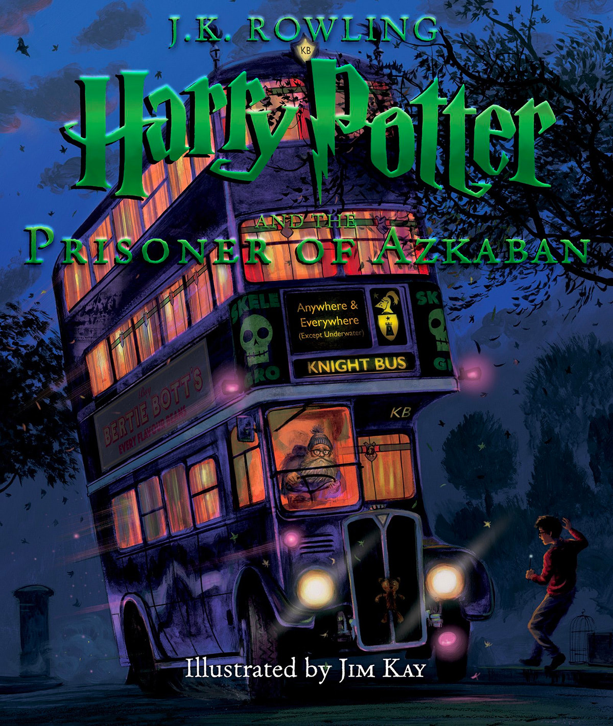 'Prisoner of Azkaban' illustrated edition (US)