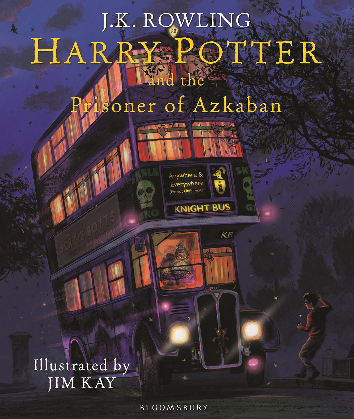 'Prisoner of Azkaban' illustrated edition