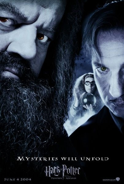 'Prisoner of Azkaban' 'Mysteries Will Unfold' poster