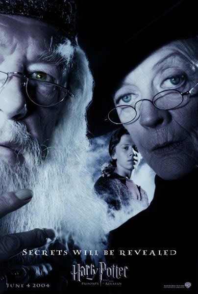 'Prisoner of Azkaban' 'Secrets Will Be Revealed' poster