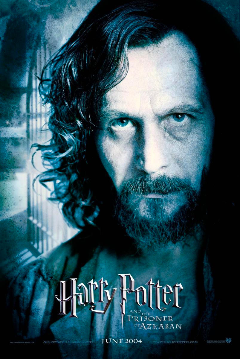 'Prisoner of Azkaban' Sirius poster #2