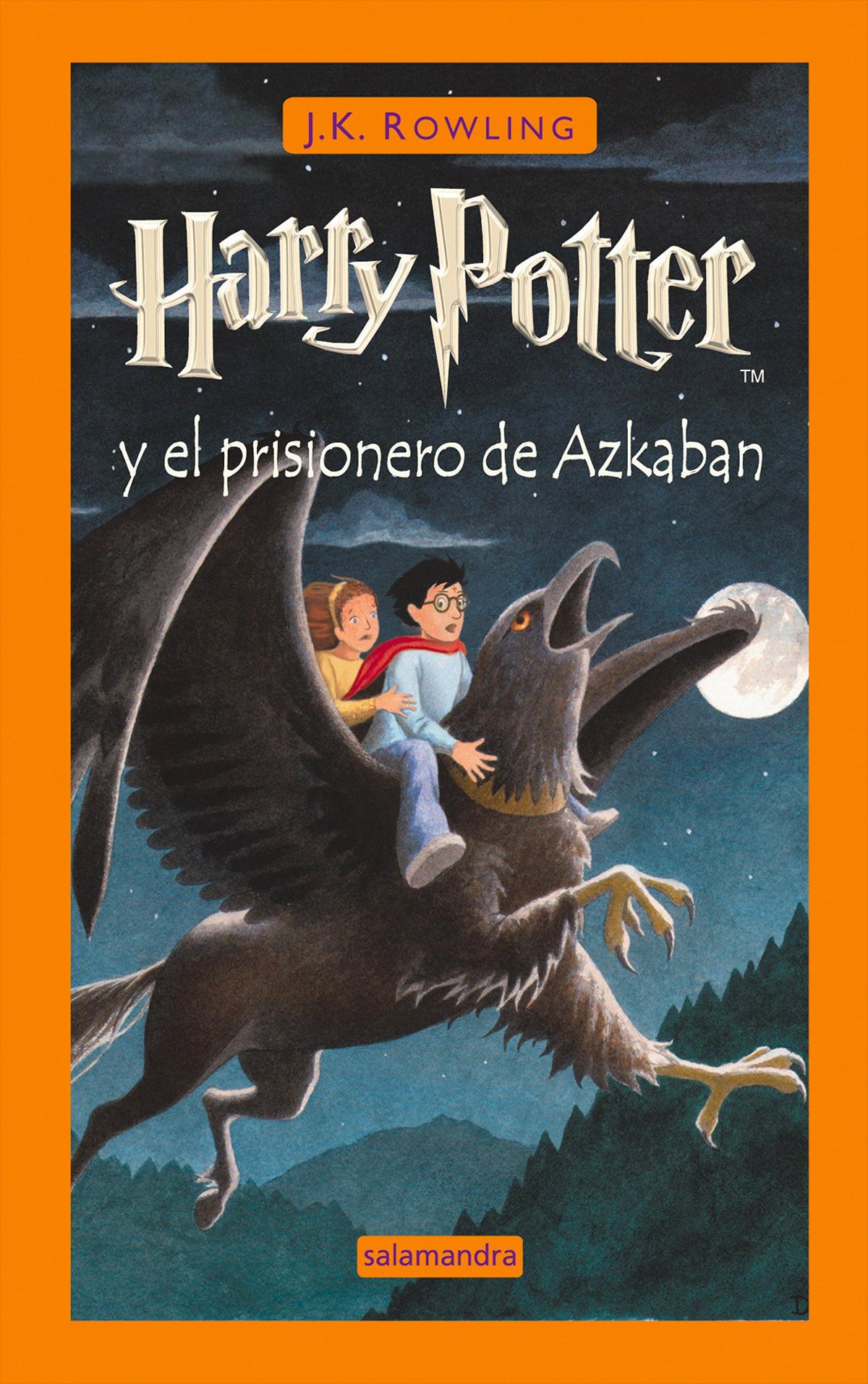 'Prisoner of Azkaban' Spanish edition