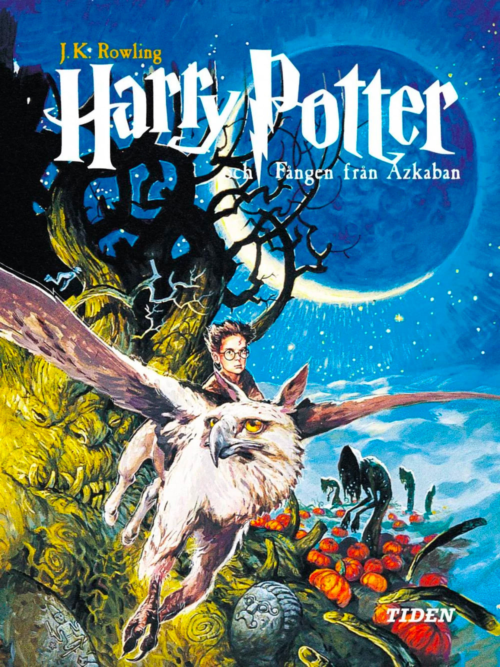 'Prisoner of Azkaban' Swedish edition