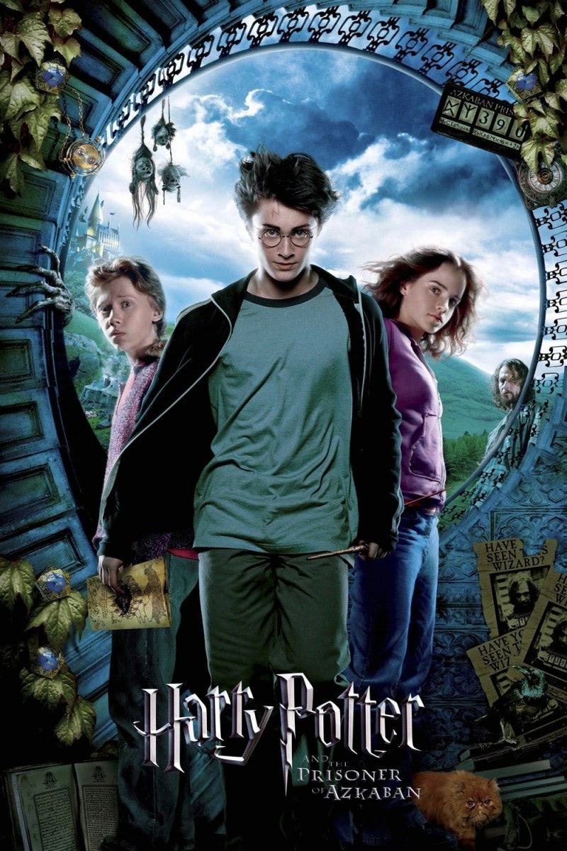 'Prisoner of Azkaban' theatrical poster #2