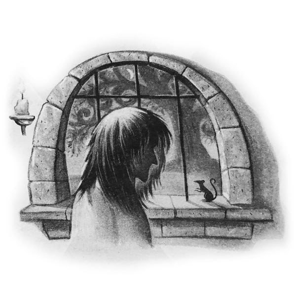 'Prisoner of Azkaban' title page chapter illustration