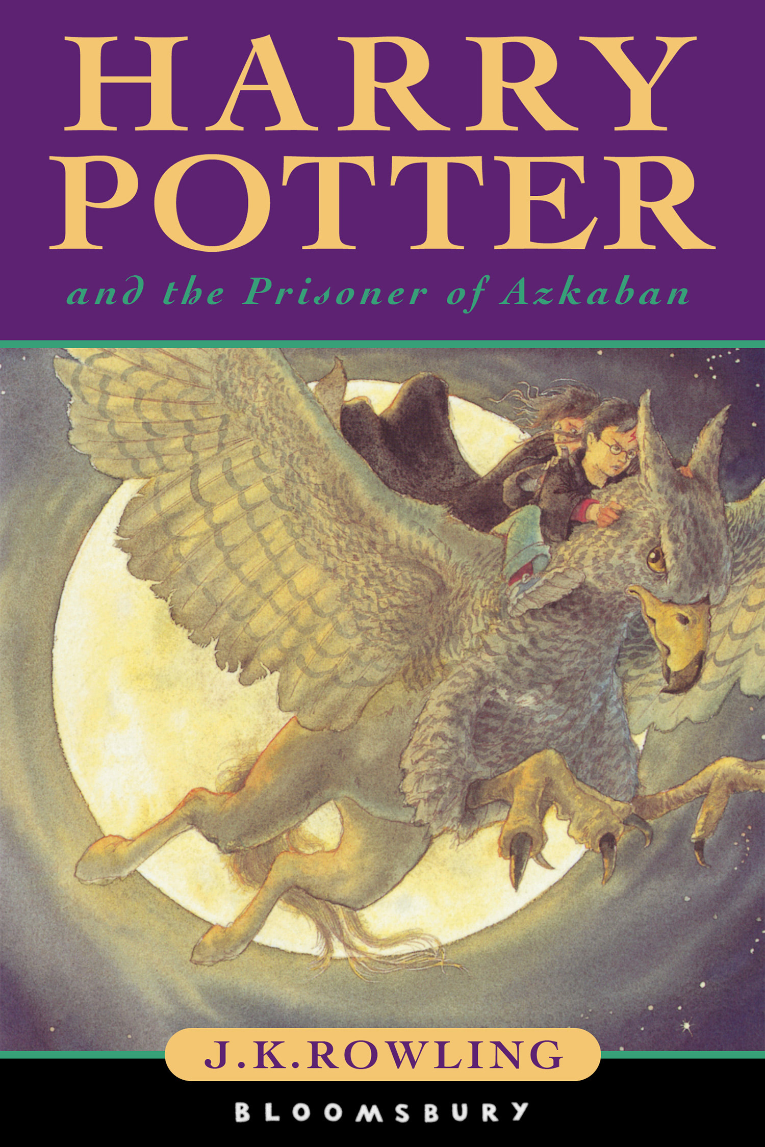 'Prisoner of Azkaban' UK children's edition
