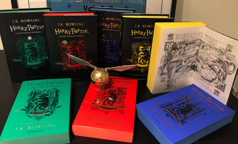 'Prisoner of Azkaban' house editions