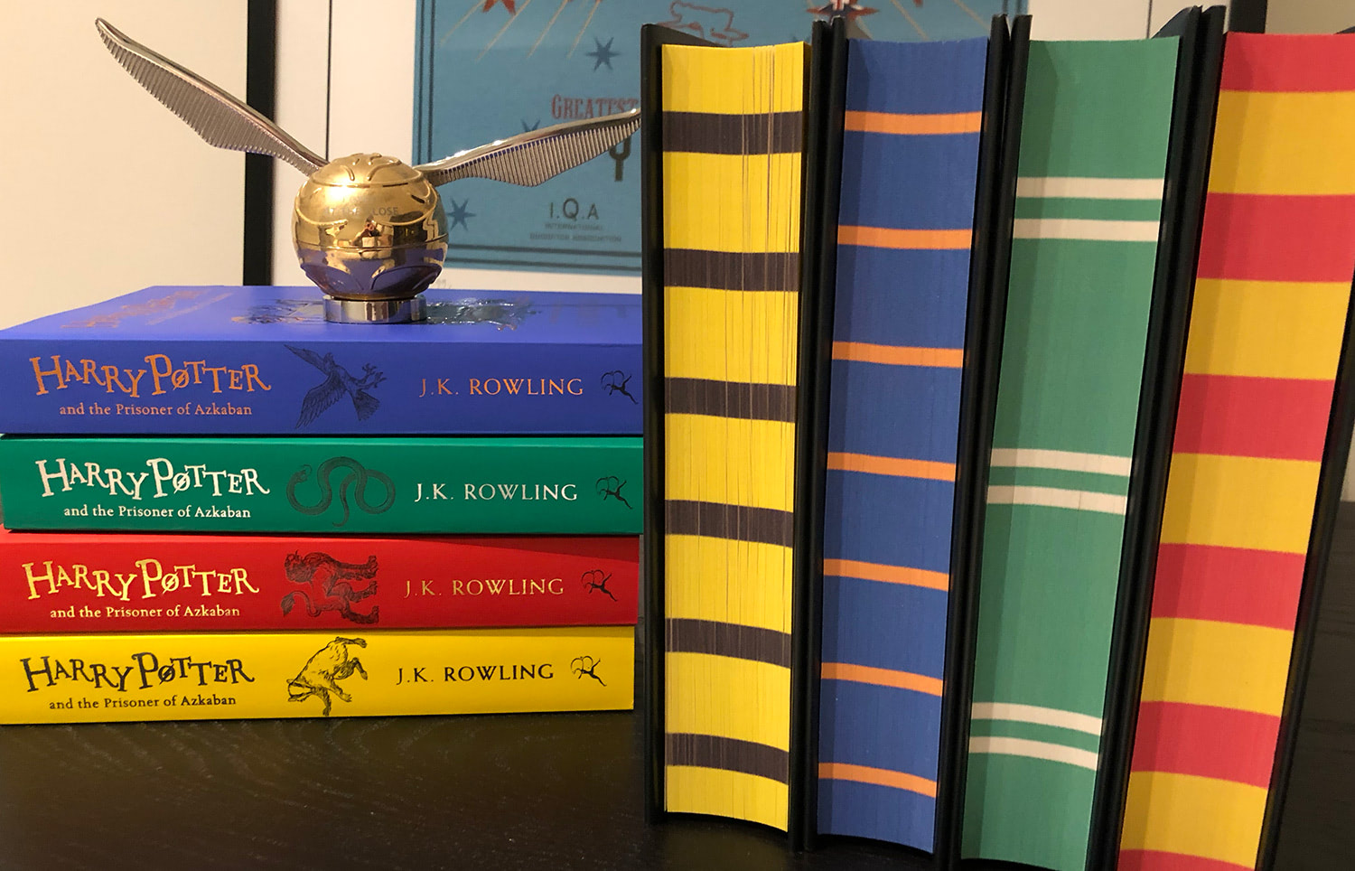 'Prisoner of Azkaban' house editions