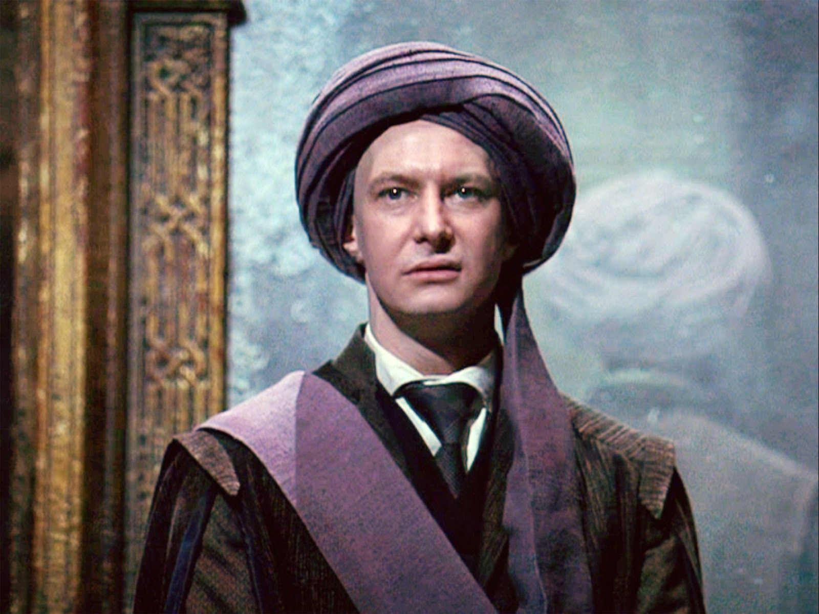 Professor Quirrell and the Mirror of Erised