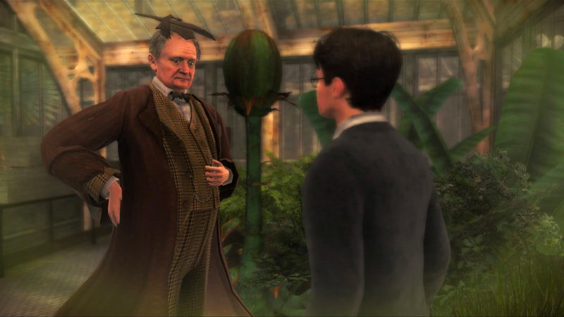 Professor Slughorn (Half-Blood Prince video game)