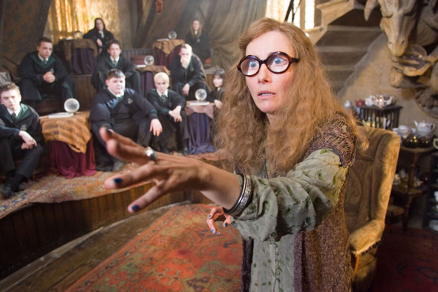 Trelawney teaches Divination