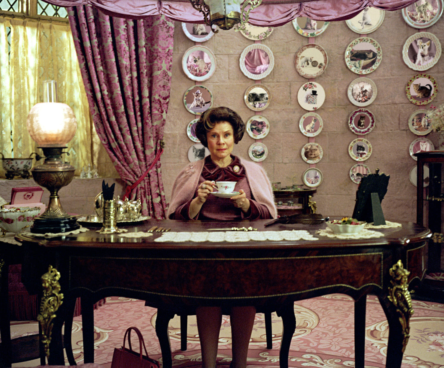 Professor Umbridge in her office