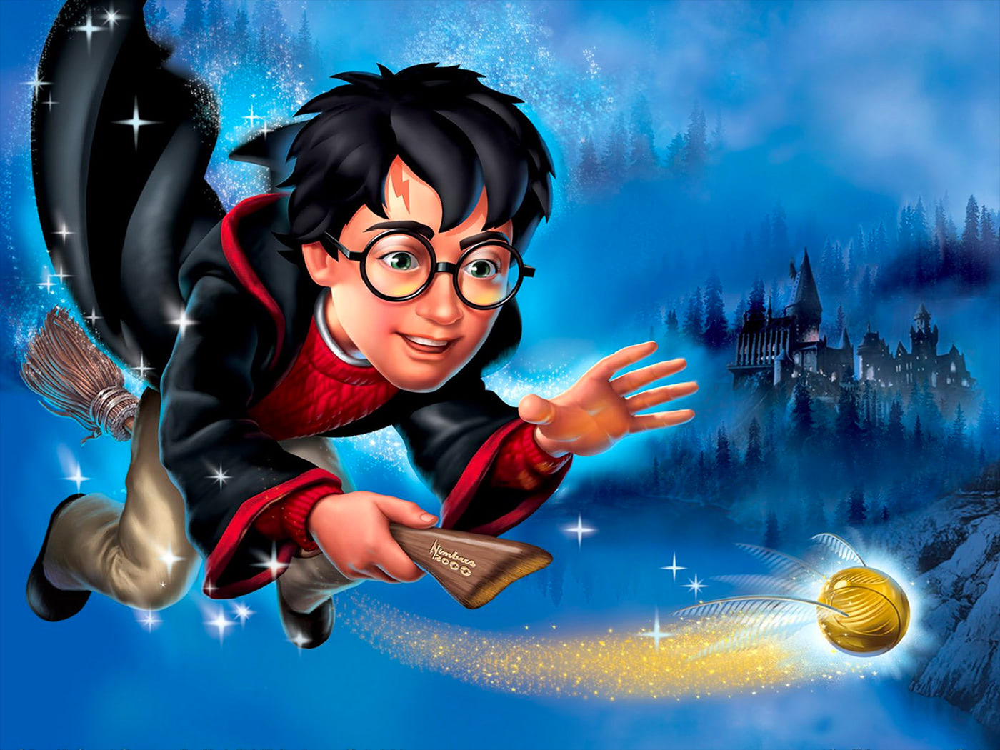 Sorcerer's Stone video game promotional artwork