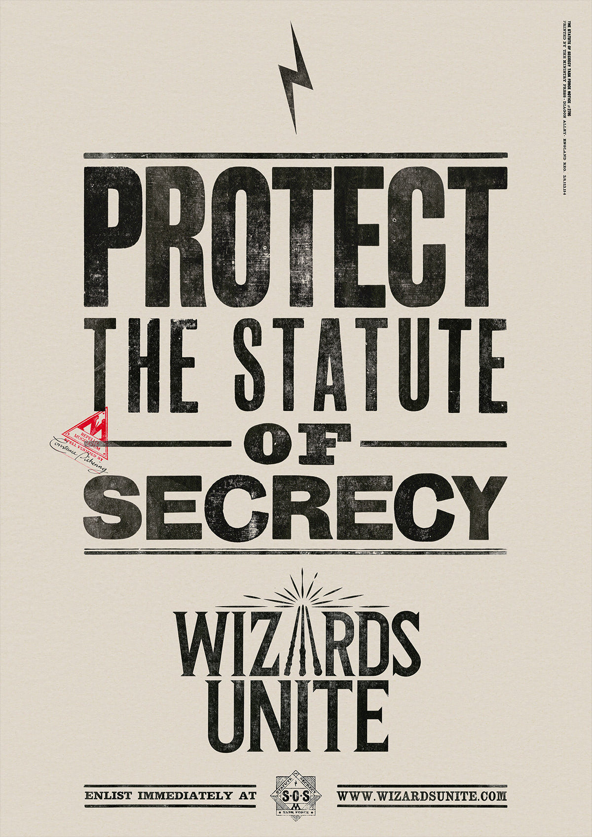 Protect the statute of secrecy (Wizards Unite)