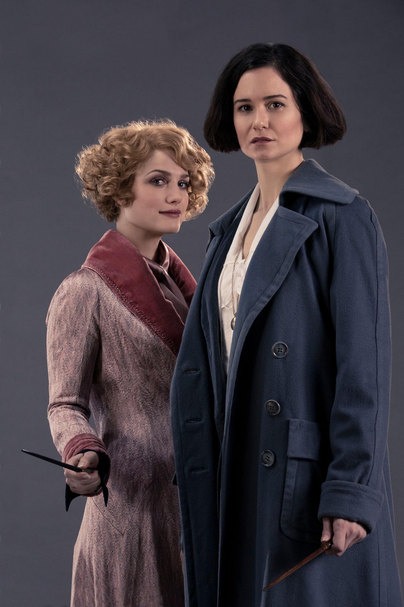 Queenie and Tina Goldstein