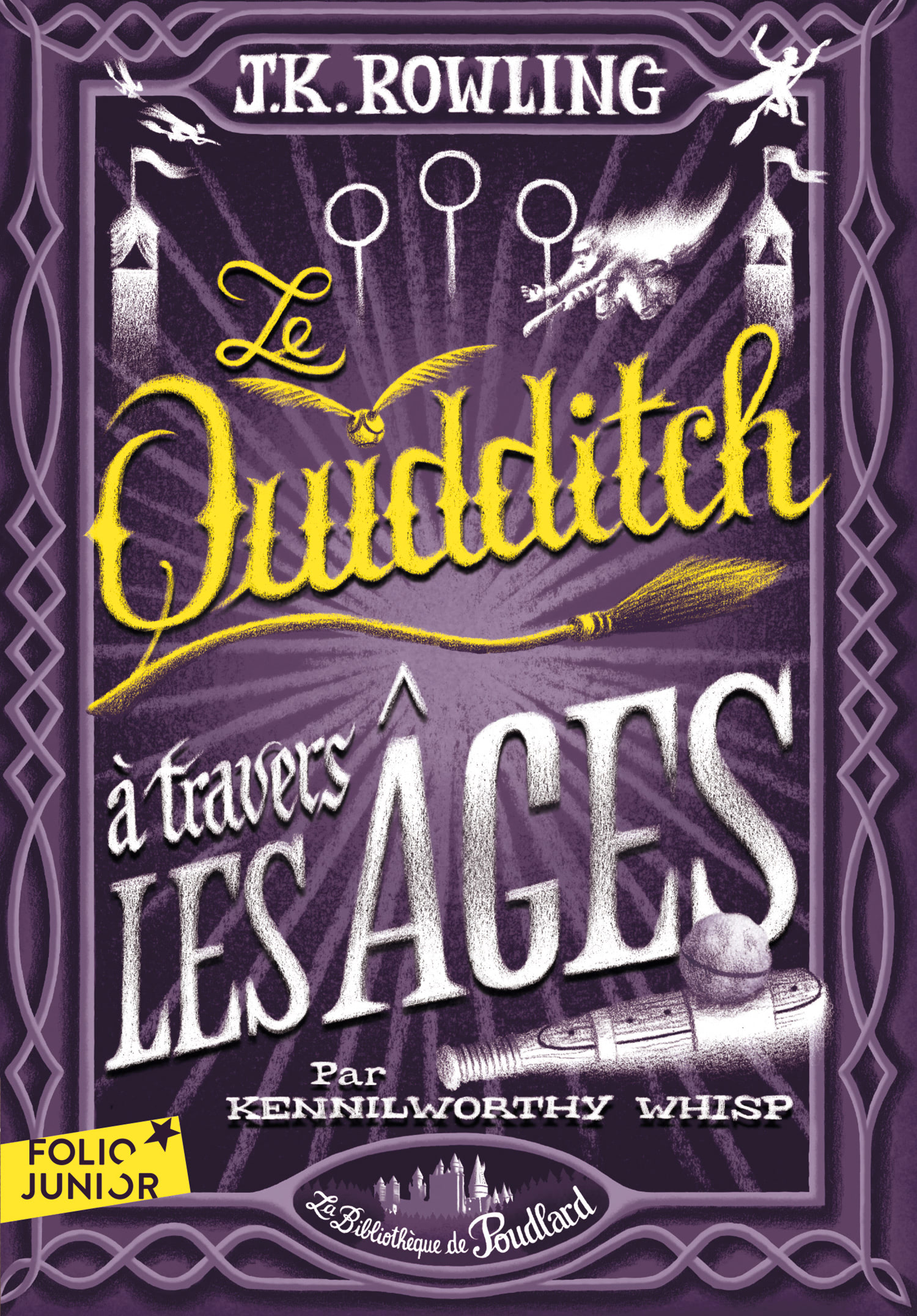 'Quidditch Through the Ages' French edition