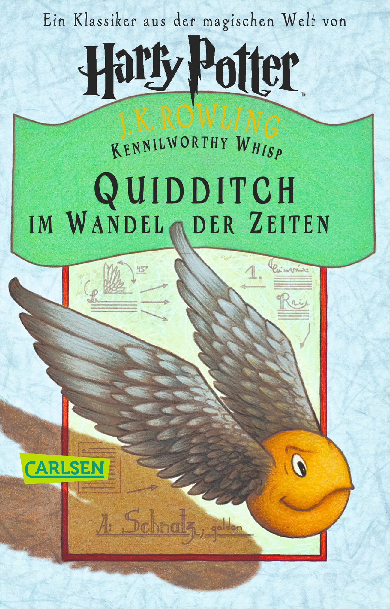 'Quidditch Through the Ages' German edition