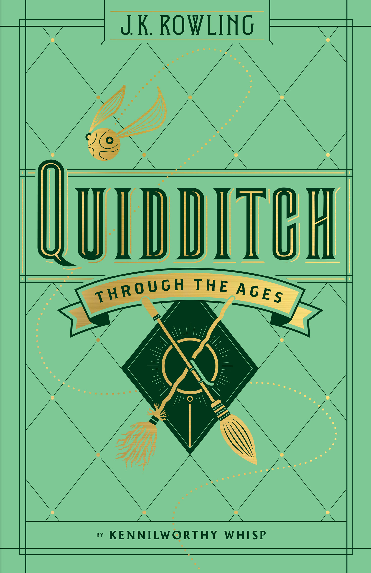 'Quidditch Through the Ages' Hogwarts Library edition (US)
