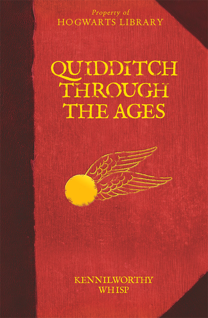 'Quidditch Through the Ages' Hogwarts Library edition (UK)