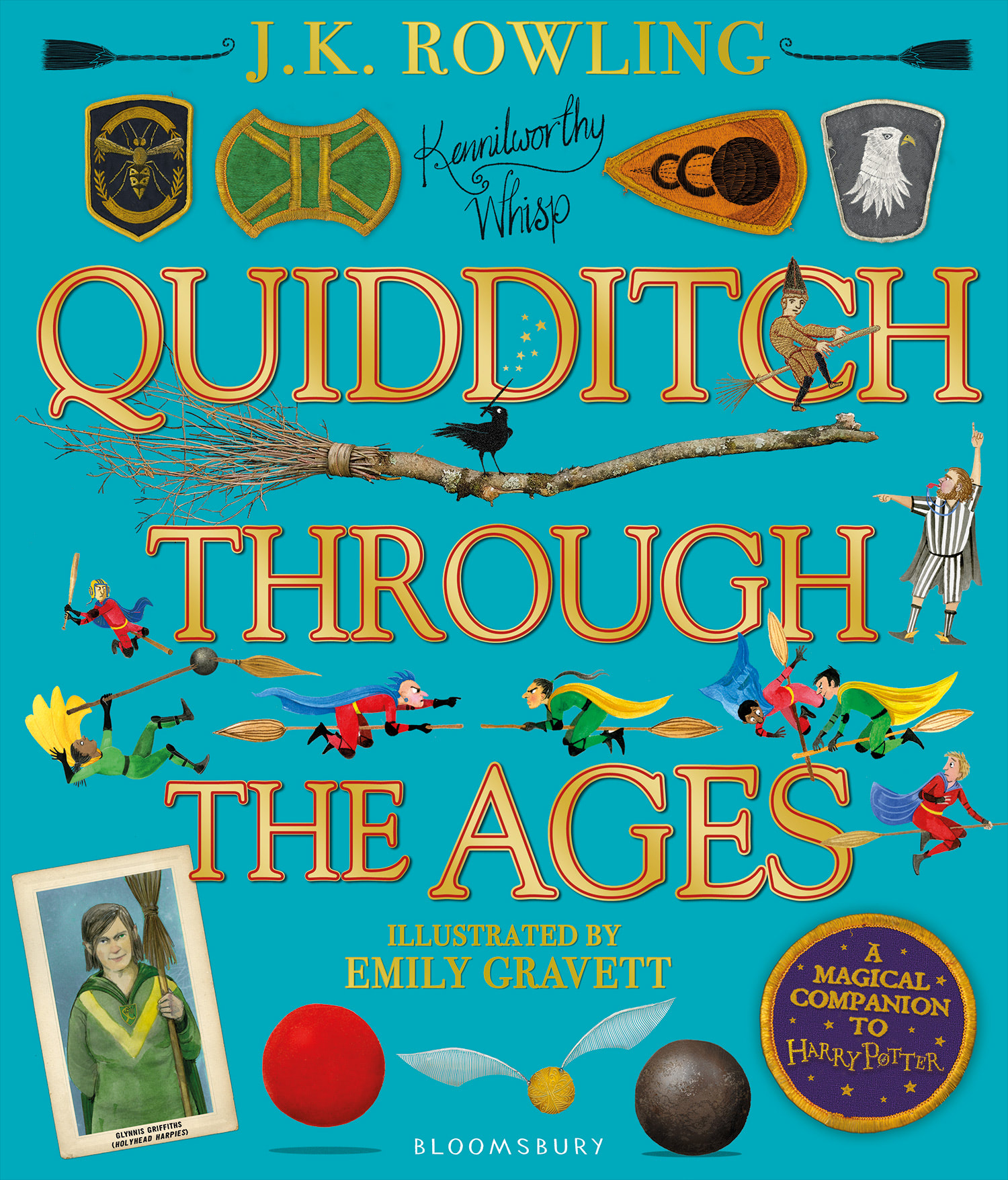 'Quidditch Through the Ages' illustrated edition (UK)