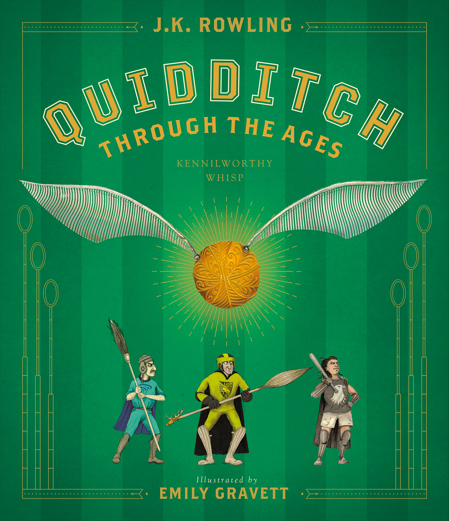 'Quidditch Through the Ages' illustrated edition (US)