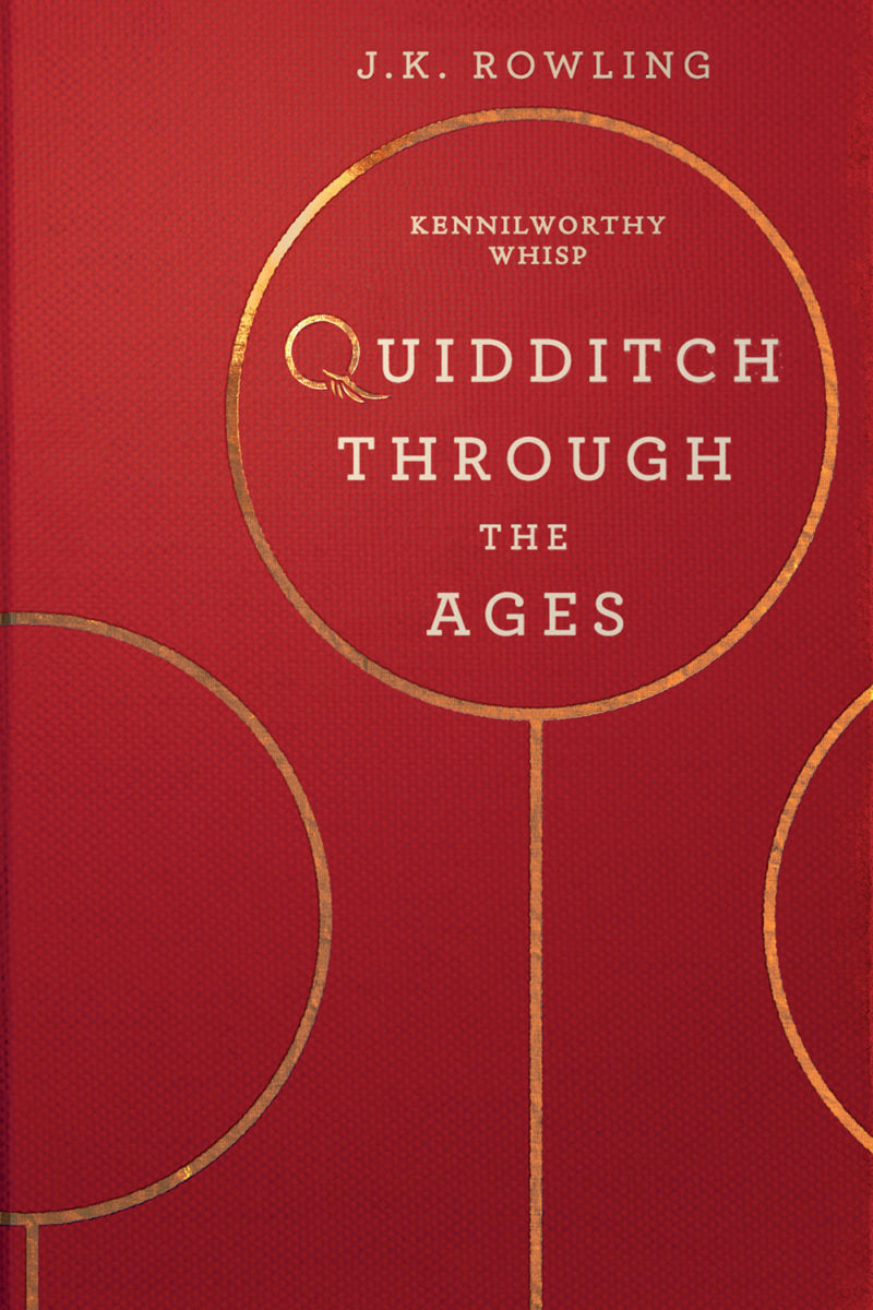 'Quidditch Through the Ages' (Olly Moss Ebook cover)