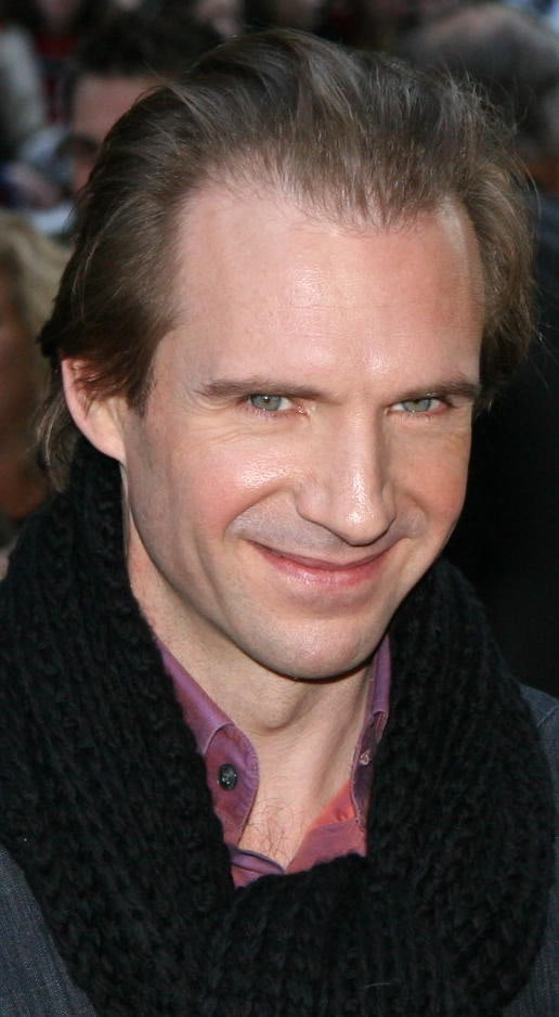 Ralph Fiennes at the New York City 'Goblet of Fire' premiere