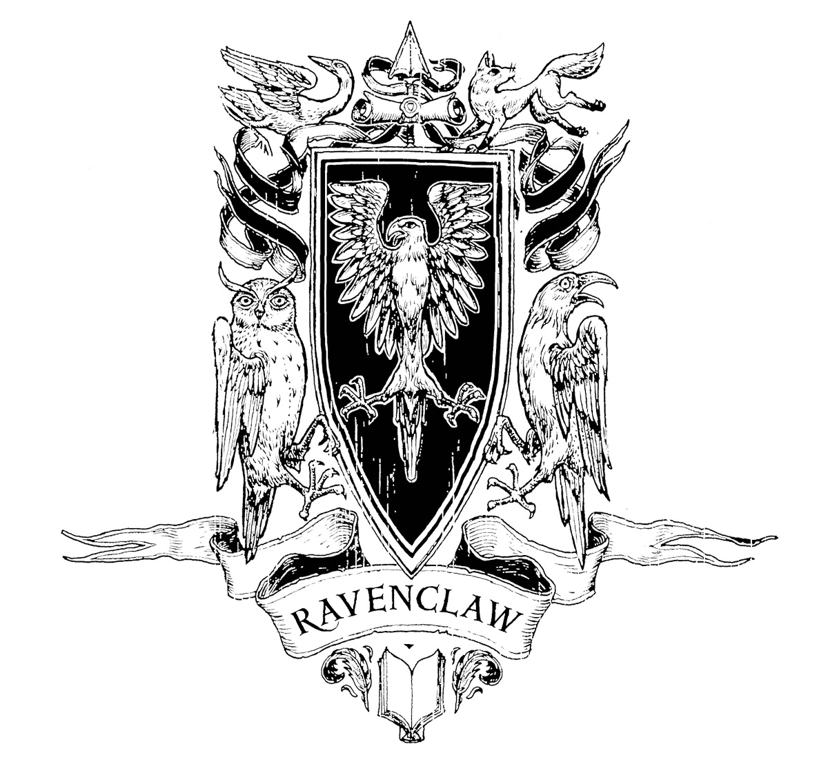 Ravenclaw Crest (house editions)