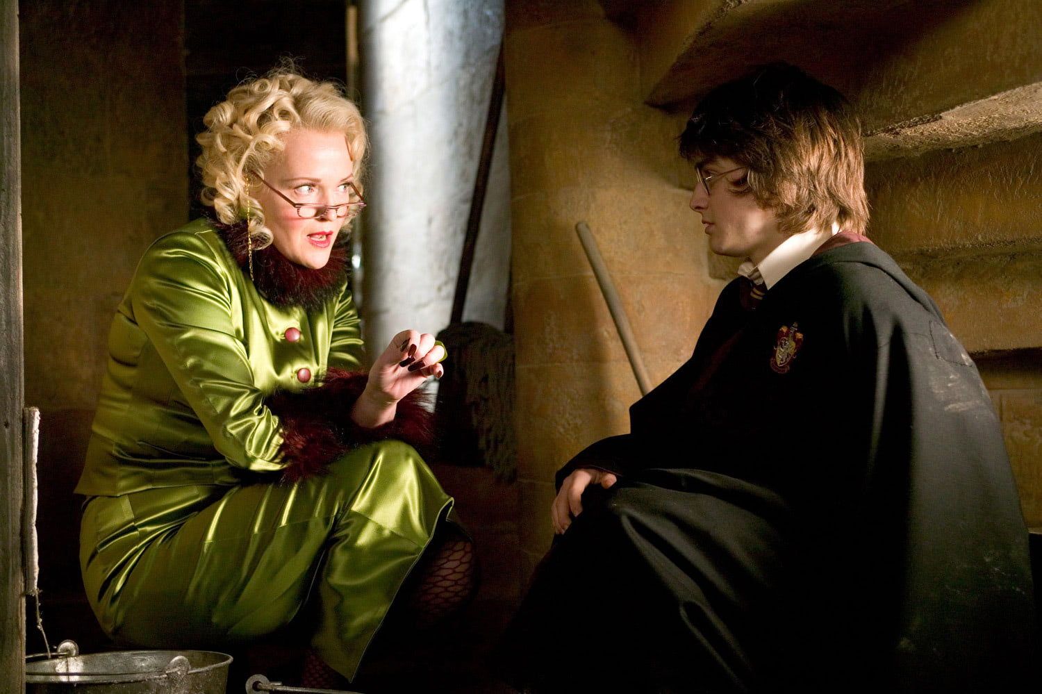 Rita Skeeter interviews Harry