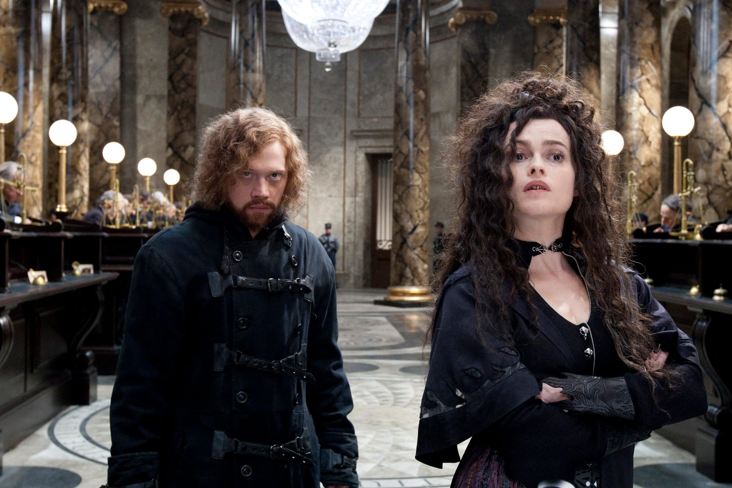 Ron and Hermione break into Gringotts