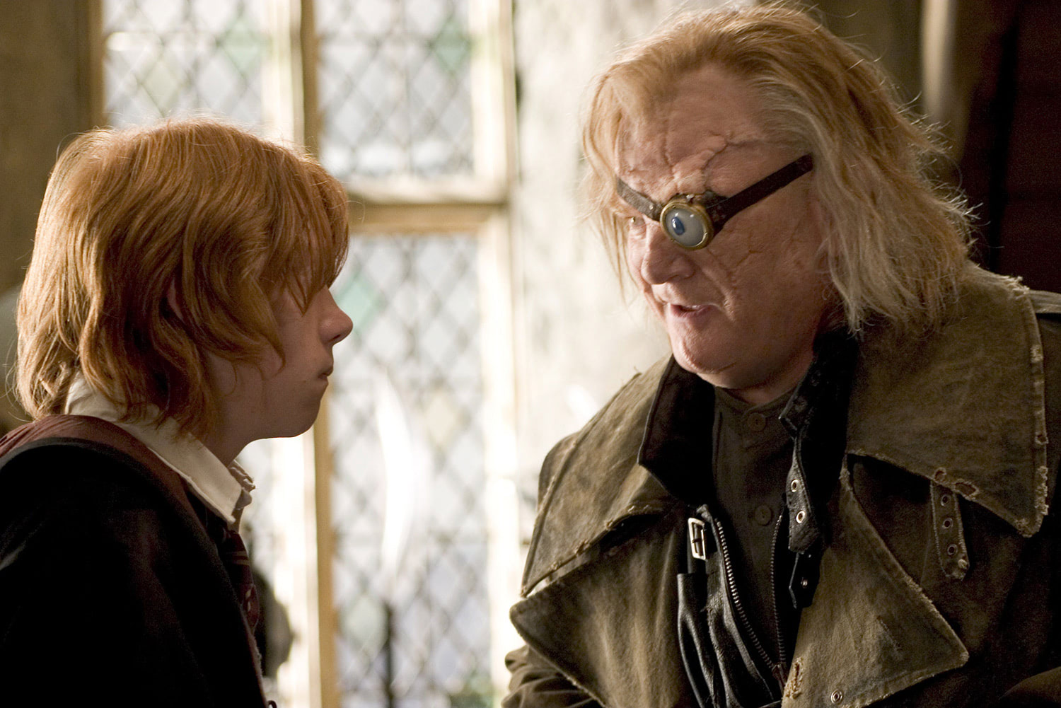Ron and Mad-Eye Moody