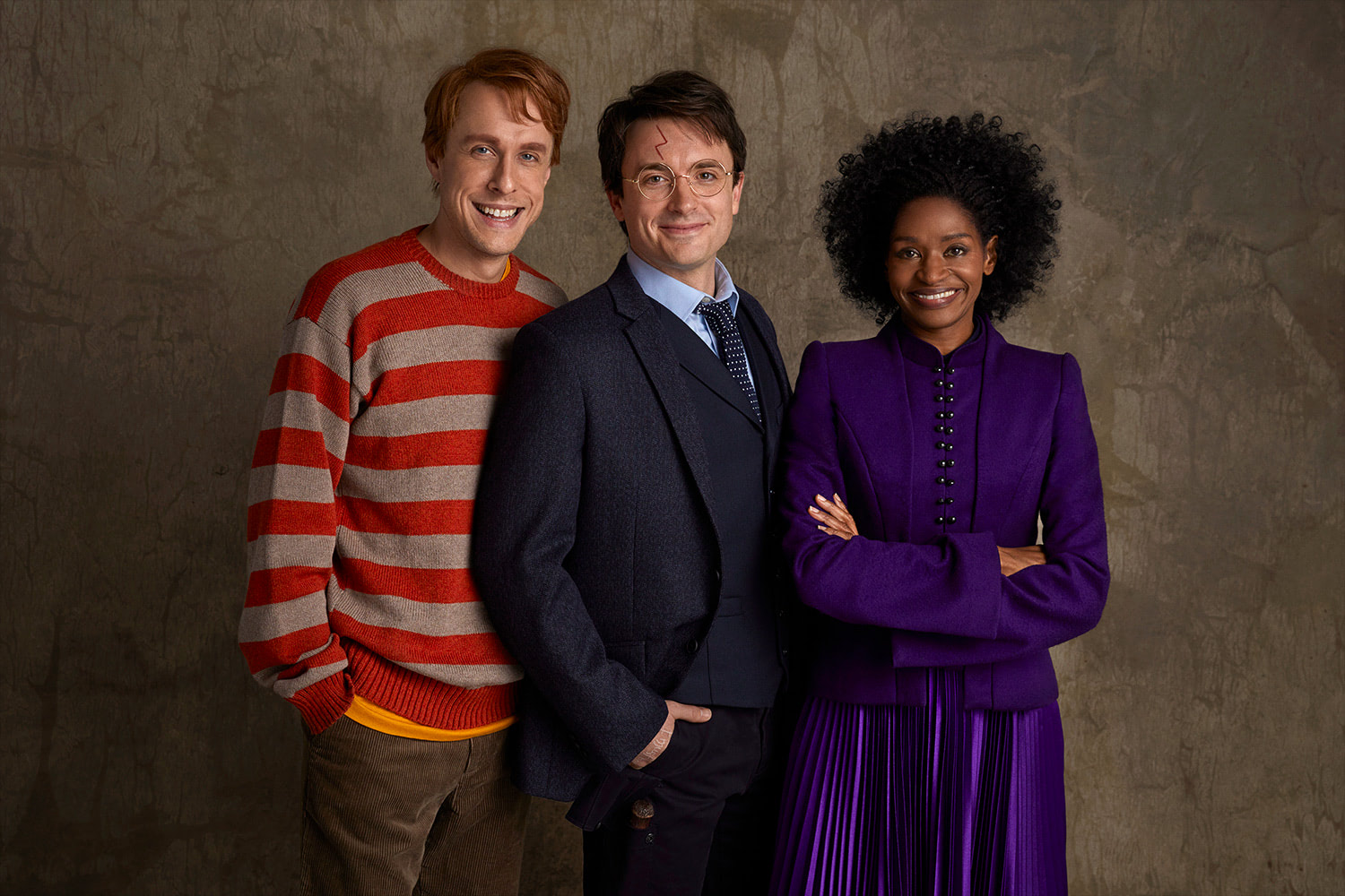 Ron, Harry and Hermione ('Cursed Child' Broadway)
