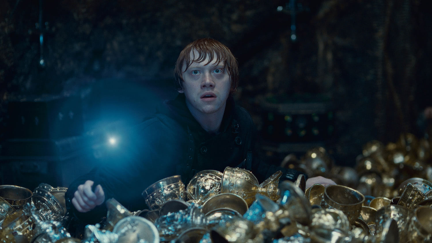 Ron in the Lestrange Vault