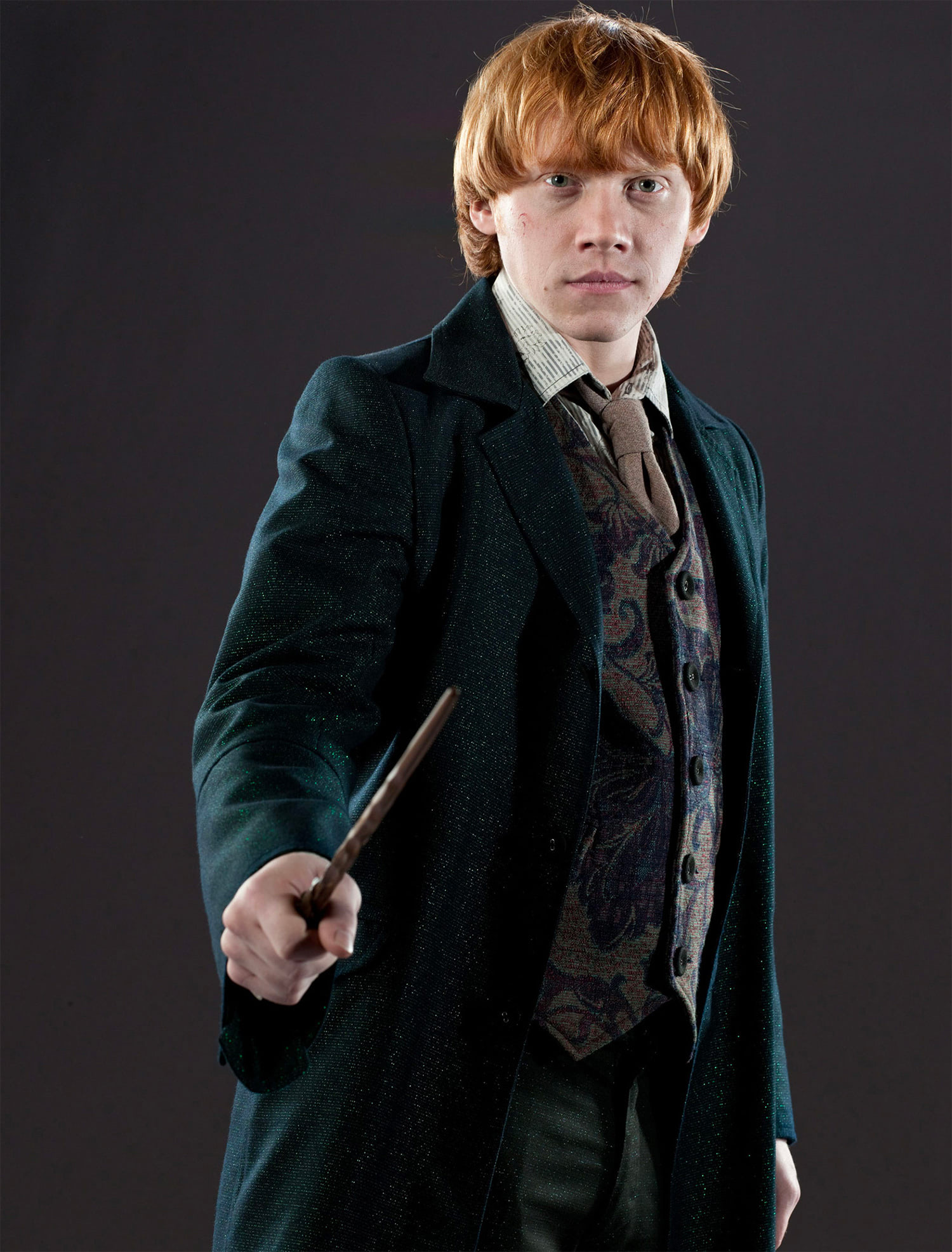 Ron Weasley wedding portrait