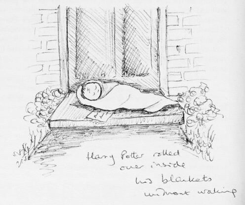 Baby Harry (J.K. Rowling sketch)