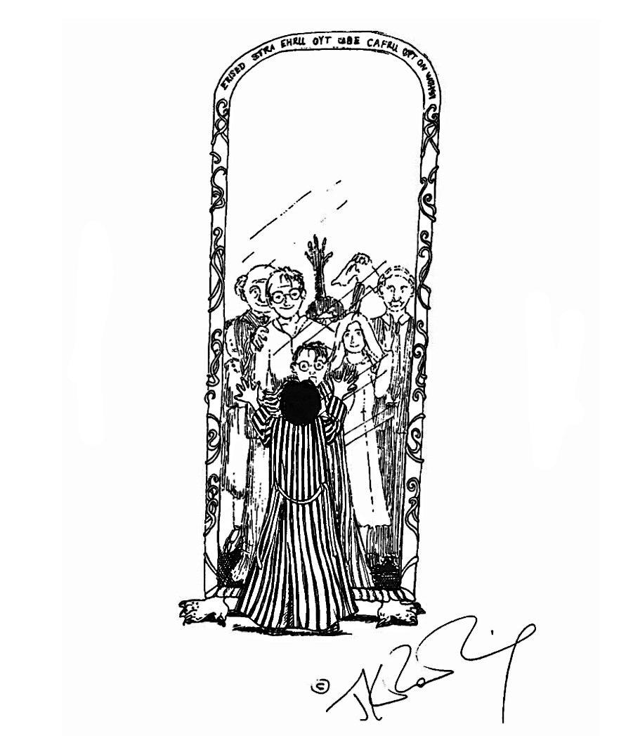 Mirror of Erised (J.K. Rowling sketch)