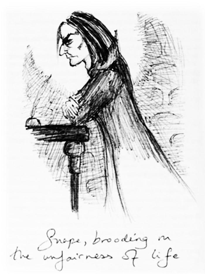 Severus Snape (J.K. Rowling sketch)