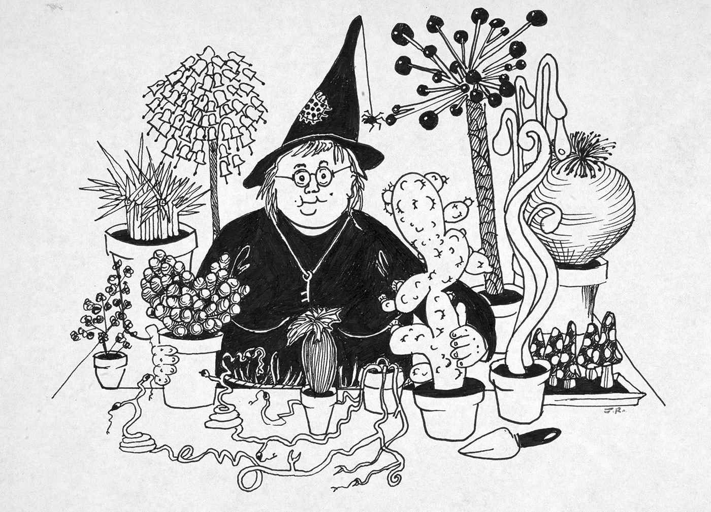 Professor Sprout (J.K. Rowling sketch)