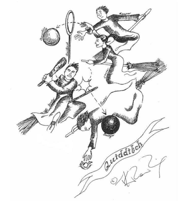 Quidditch (J.K. Rowling sketch)