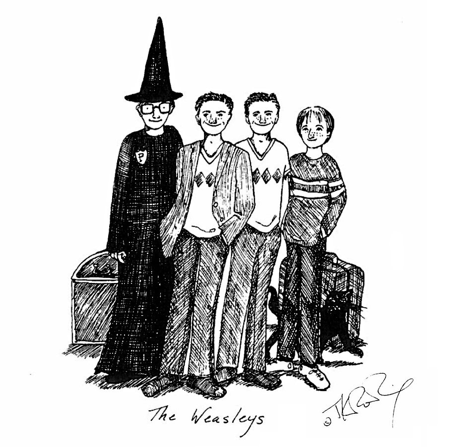 Weasley family (J.K. Rowling sketch)