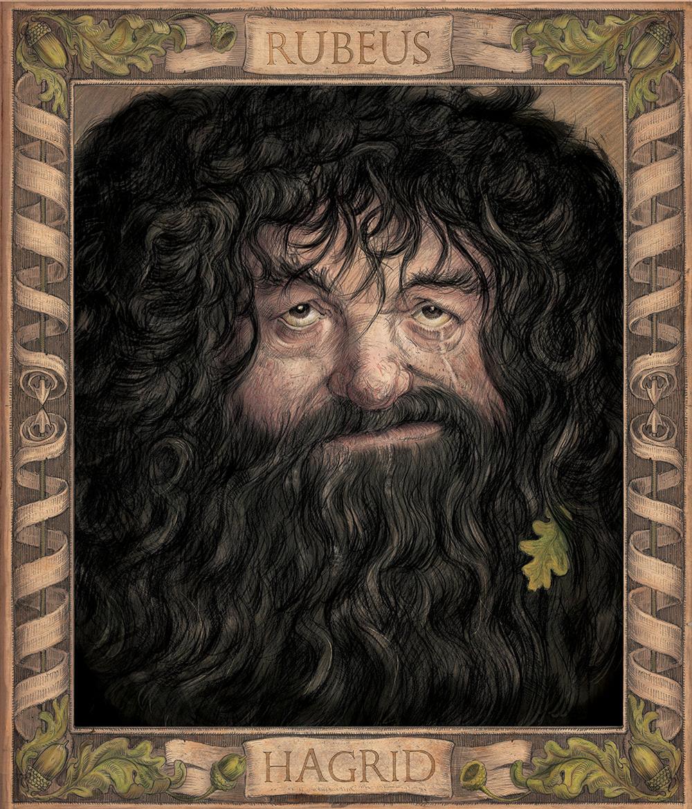 Rubeus Hagrid portrait