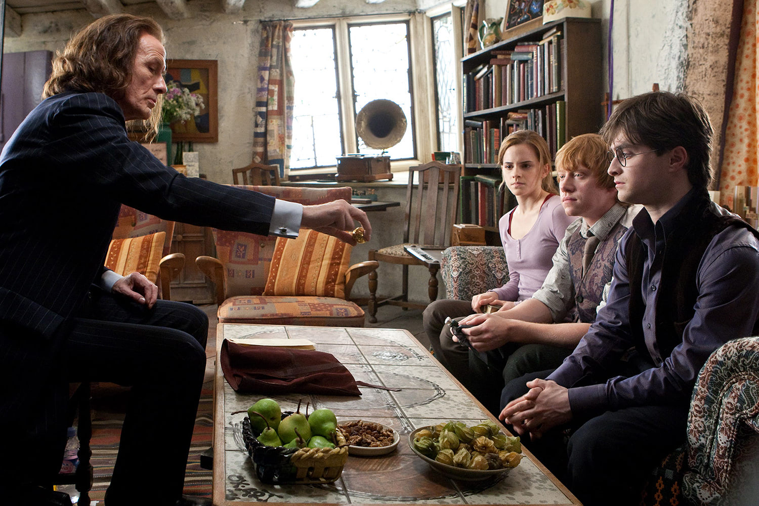 Rufus Scrimgeour reads Dumbledore's will